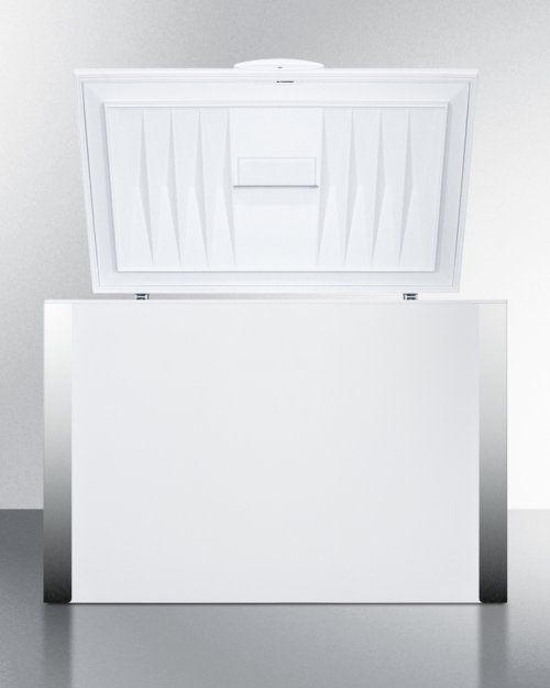 Commercially Listed 15 CU.FT. Frost-free Chest Freezer In White With Digital Thermostat for General Purpose Storage; Replaces Scff120