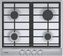 "500 Series 24"" 4 Burner Gas Cooktop, NGM5456UC, Stainless Steel"