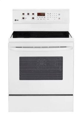 6.3 cu. ft. Capacity Electric Single Oven Range with Fan Convection