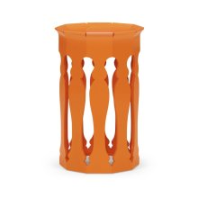 Moorish Lamp Table (Pumpkin Cream)