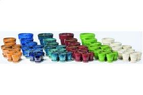 Bijou Petits Pots with Attached Saucer - 64 Piece Assortment