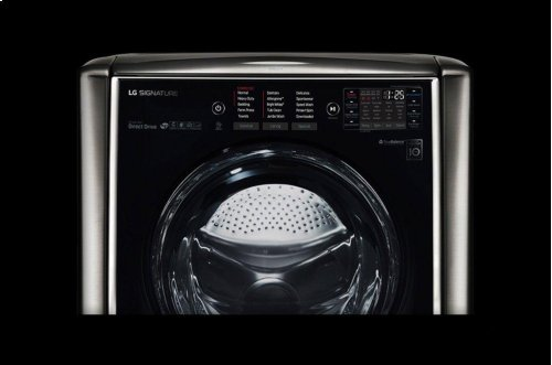 LG SIGNATURE 5.8 cu. ft. Large Smart wi-fi Enabled Front Load Washer