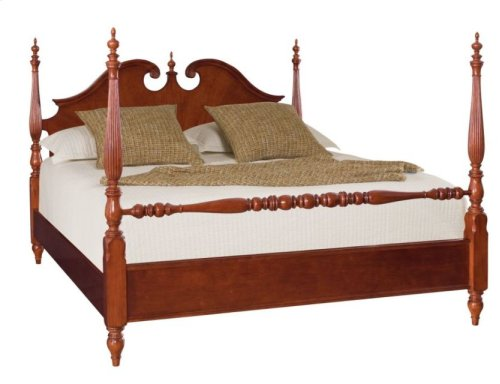 Low Poster Cal. King Bed