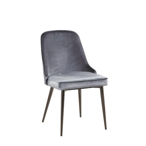 Inslee Contemporary Blue Dining Chair