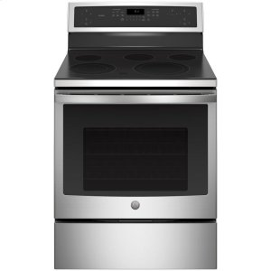 "GE ProfileGE Profile™ 30"" Free-Standing Electric Convection Range"