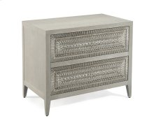 Cosmos Two-Drawer Nightstand