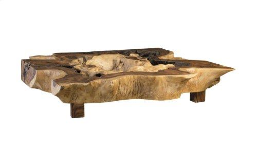 Chamcha Wood Coffee Table, Square