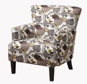Accent Chair W/leaf Print