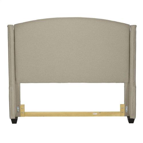 Queen Wing Shelter Headboard