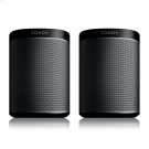 Black- A Play:1 pair for intense home theatre surround sound, or two separate rooms of great-sounding music. Product Image
