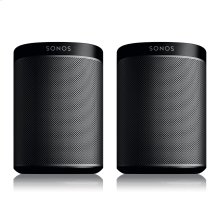 Black- A Play:1 pair for intense home theatre surround sound, or two separate rooms of great-sounding music.