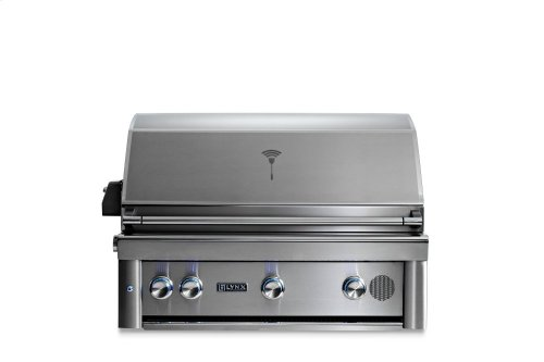 """36"""" Lynx Professional Built In Smart Grill with Rotisserie, NG"""