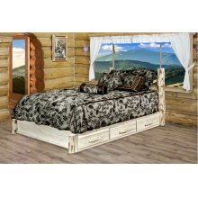 Montana Platform Beds with Storage