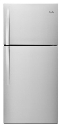 Scratch And Dent Unit On Bargain Center 30-inch Wide Top Freezer Refrigerator - 19 cu. ft.