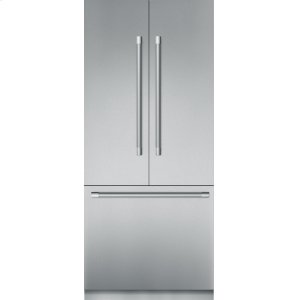 THERMADOR36 - Inch Pre-Assembled Built-in Bottom-Freezer with Professional Handles
