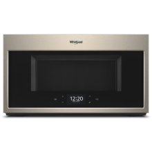 1.9 cu. ft. Smart Over-the-Range Microwave with Scan-to-Cook technology 1