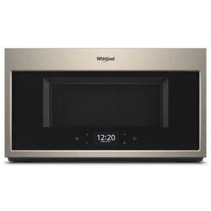 Whirlpool1.9 cu. ft. Smart Over-the-Range Microwave with Scan-to-Cook technology
