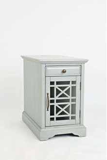 Craftsman Power Chairside Table - Earl Grey