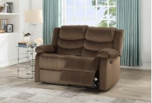 8016 Brown Loveseat