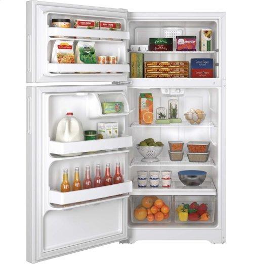 Hotpoint® 14.6 Cu. Ft. Recessed Handle Top-Freezer Refrigerator [OPEN BOX]