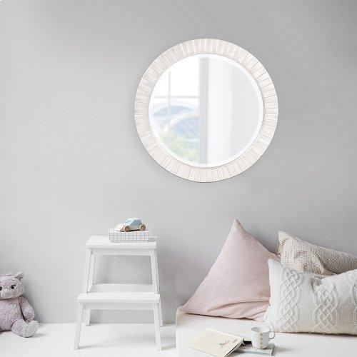Serenity Mirror - Glossy White