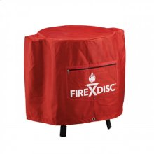 24 -inch FireDisc Fireman Red Cover
