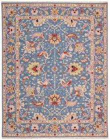 Nourmak S172 Blue Rectangle Rug 7'10'' X 9'10''
