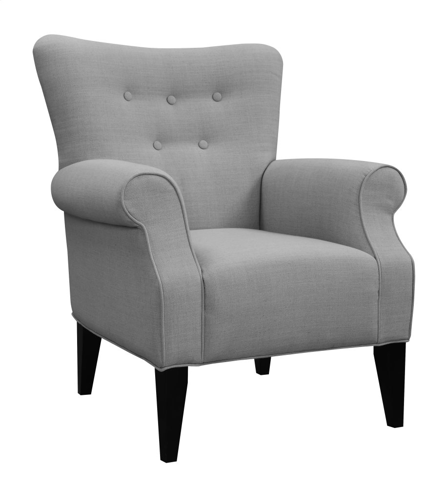 Emerald Home Lydia Accent Chair Cement U360 05 13
