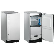 Brilliance ® Outdoor Ice Maker, 65 lbs, Stainless Steel