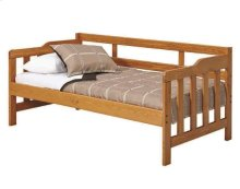 Heartland Mission Daybed with options: Honey Pine, Twin, 2 Drawer Storage