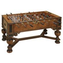 FOOSBALL TABLE, MONKEY & LION PLAYERS