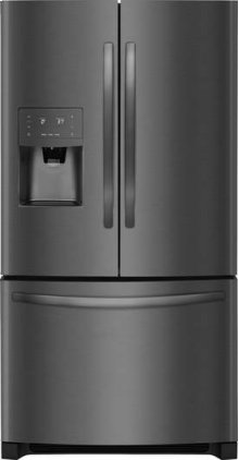 Bottom Mount Refrigerator - Black Stainless