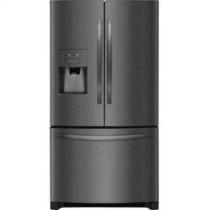 CrosleyBottom Mount Refrigerator - Black Stainless