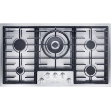 KM 2355 G Gas cooktop in maximum width for the best possible cooking and user convenience.