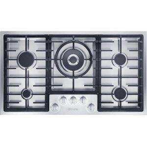 MieleKM 2355 LP Gas cooktop in maximum width for the best possible cooking and user convenience.