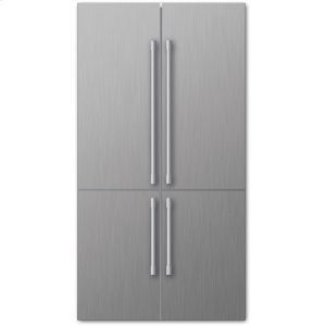 "Blomberg Appliances36"" 4 Door Refrigerator, Stainless"
