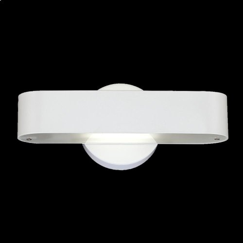 1-LIGHT WALL SCONCE - White