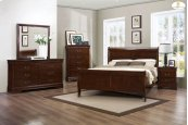 Eastern King Sleigh Bed