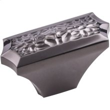 """2"""" Overall Length Hammered Texture Cabinet Knob."""