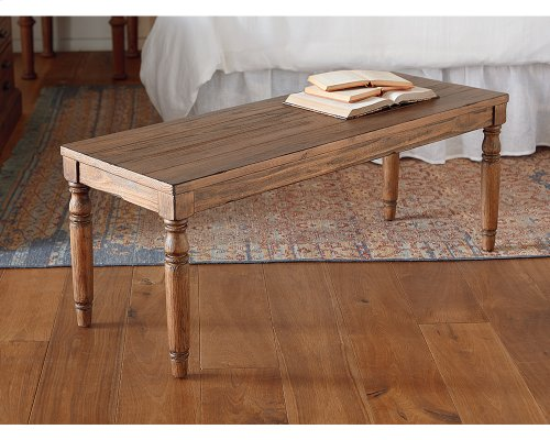 Taper Turned Bench