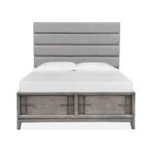 Complete Queen Upholstered Storage Bed