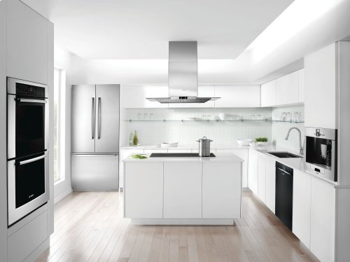 23 5/8 '' Recessed Handle Dishwasher Ascenta- Black SHE3AR56UC