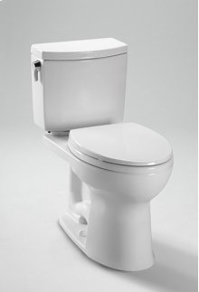 Colonial White Drake II 1G Close Coupled Toilet - SanaGloss®
