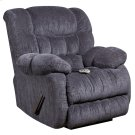 Massaging Columbia Indigo Blue Microfiber Rocker Recliner with Heat Control Product Image
