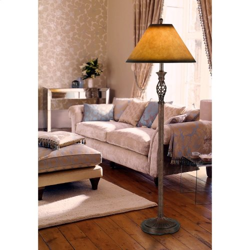 150W 3Way Twisted Cage Floor Lamp