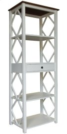 Book Shelf, Available in Hampton White Finish Only. Product Image