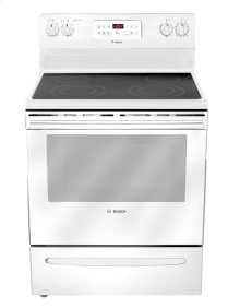 "30"" Electric Freestanding Range 300 Series - White HES3023U"