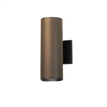 2 Light Outdoor Wall Cylinder AZ