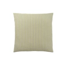 "PILLOW - 18""X 18"" / LIGHT / DARK GREEN ABSTRACT DOT / 1PC"