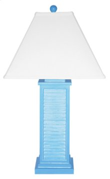 PR151-BL Shutter Table Lamp